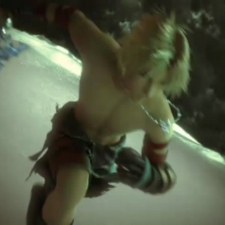 Tidus in the opening.