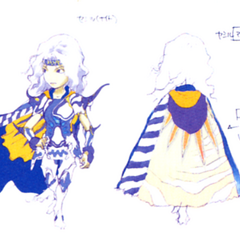 Akira Oguro concept artwork of Paladin Cecil (DS).
