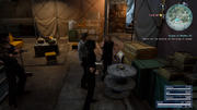 Cosmogony at Cape Caem lighthouse basement from FFXV