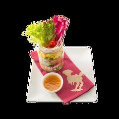 Chocobo's salad ~Jar style~