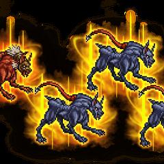 Ultimate Crimson Hound & Guard Hound.