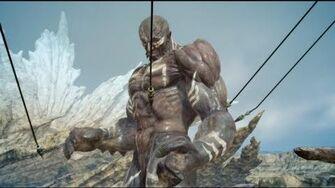 Final Fantasy XV - Summoning Titan against Titan-0