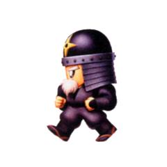 Galuf as a Ninja.