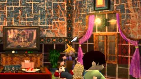 Waiting Room, Honey Bee Inn - FFVII Unlocked