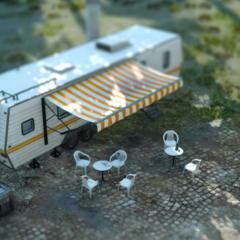 The caravan.