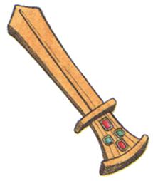 Fantasy Art Ancient Sword