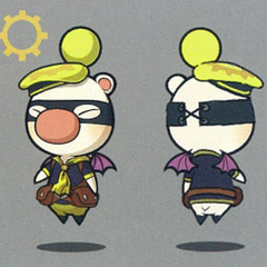 Class Eighth moogle artwork.