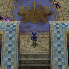 Inside Damcyan Castle (iOS).