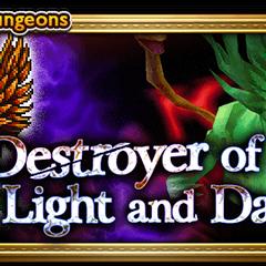 Destroyer of Light and Dark banner.