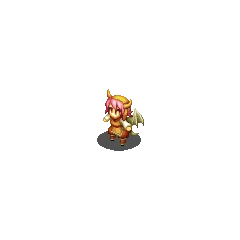 Gria Hunter sprite in <i>Final Fantasy Tactics S</i>.