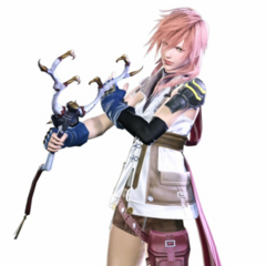 Render of Lightning costume with the Binding Rod.