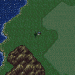 Gau's father's house in the World of Balance (SNES).