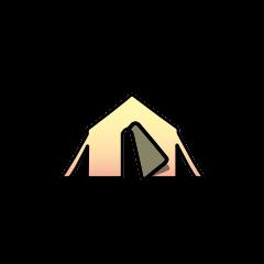 Иконка, обозначающая лагерь на карте мира.