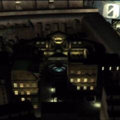 Сектор 8 в открывающем ролике <i>Final Fantasy VII</i>.