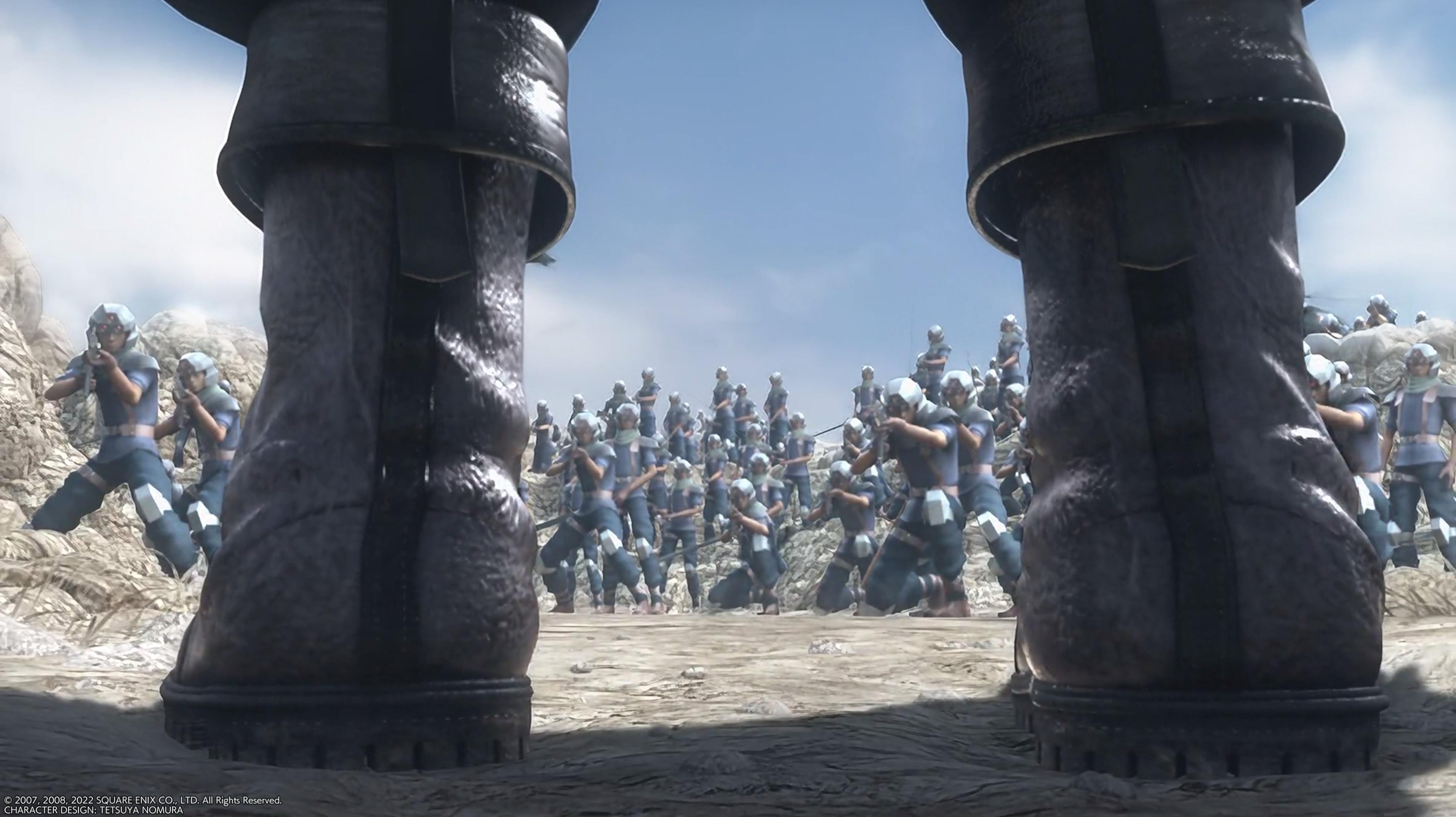File:Zack facing the Shinra Army.jpg