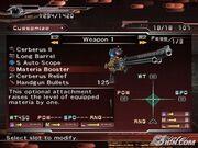 Dirge-of-cerberus-final-fantasy-vii-weapon-customise-menu