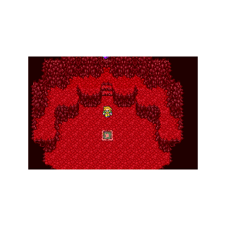 Galuf inside the Meteorite.