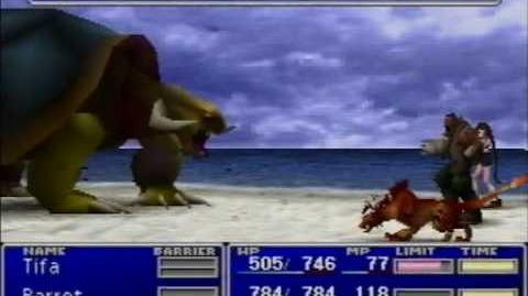Final Fantasy VII - Adamantaimai Glitch - Data Error