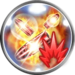 FFRK Flame Penalty Icon