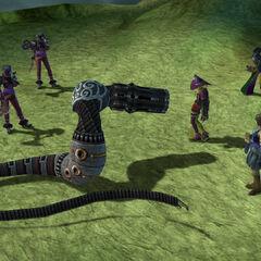 Fem-Goons in battle.
