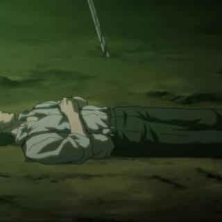 Corpse in <i>Last Order</i>.