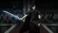 Somnus summons his blade in FFXV Episode Ardyn Prologue