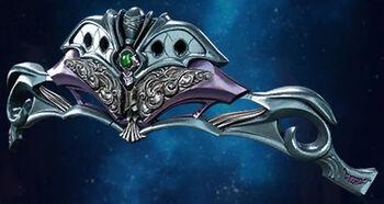 FFVIIR Emerald Tiara