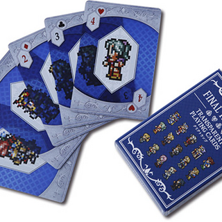 Clear Playing Cards.