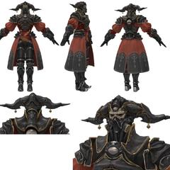 Modelo 3D de Gaius.