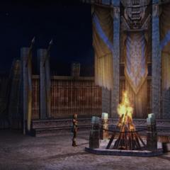 Jahara bonfire.