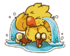 LINE Chocobo Sticker8
