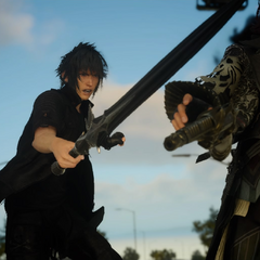 Noctis attacks