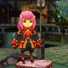 Flame Harness in <i>Final Fantasy Crystal Chronicles: Ring of Fates</i>.