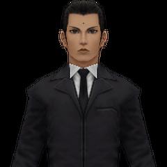 Model in <i>Crisis Core -Final Fantasy VII-</i>.
