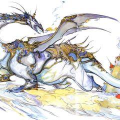 Wind Drake by Yoshitaka Amano.