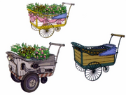 CCFFVII Flower Wagons