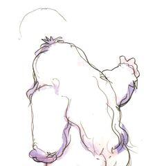 Рисунок Умаро в стиле чиби работы Ёситаки Амано.