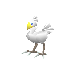 White chocobo.