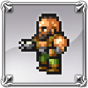 DFFNT Player Icon Barret Wallace FFRK 001