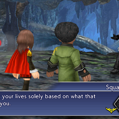The party meet Squall.