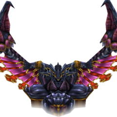 Render of Bahamut.