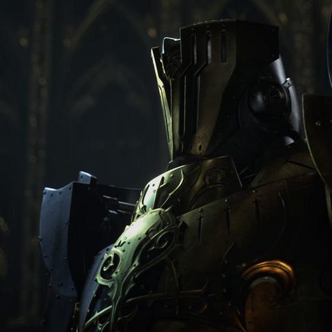 Glauca como ele aparece no trailer da E3 2013.