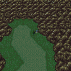 Duncan's Cabin on the World of Balance map (SNES).