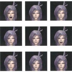 Expressões faciais.