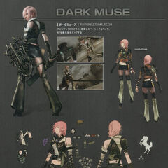 Concept art of Dark Muse.