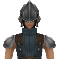 Model of 3rd Class SOLDIER from <i>Crisis Core -Final Fantasy VII-</i>.