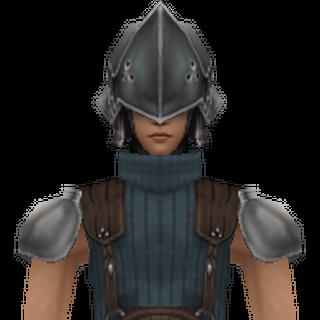 Modelo de 3° Classe em <i>Crisis Core -Final Fantasy VII-</i>.