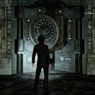 Дверь лабиринта под Стейлиффской рощей.