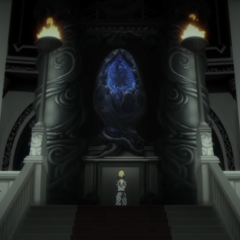 The Oracle awaits the gods' decision by the Crystal in <i>Episode Ardyn Prologue</i>.