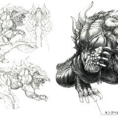 Концепт-арт для <i>Final Fantasy X</i>.